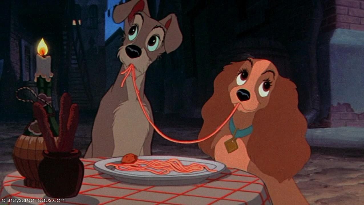 Scena Animata Di Lilli E Il Vagabondo Curiosità Disney