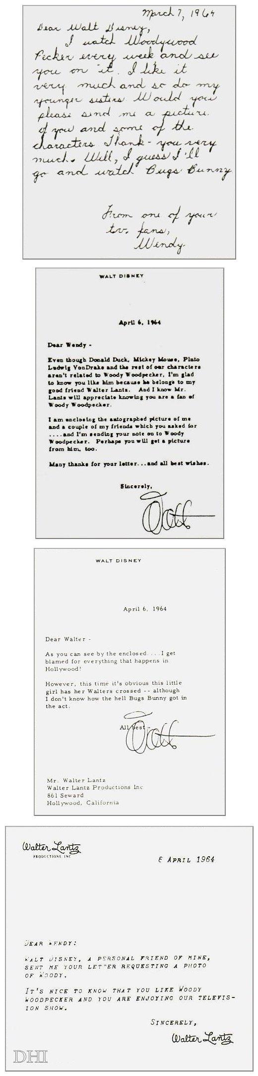 Lettere-Walt-Disney