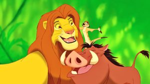 Timon-And-Pumbaa-With-The-Lion-King-Simba