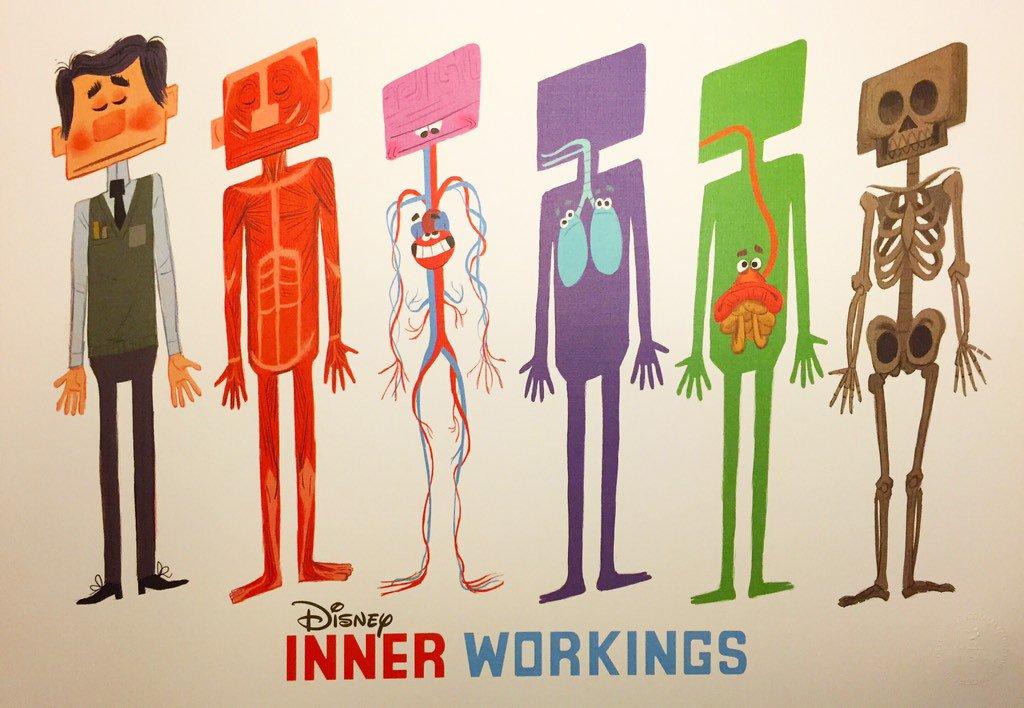 Inner Workings: il trailer del corto Disney che accompagnerà l'uscita di Oceania