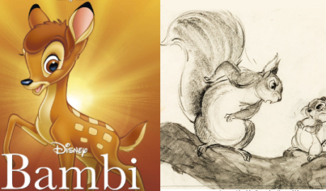 Bambi-scoiattoli-eliminati-chipmunk-squirrel-deleted-characters
