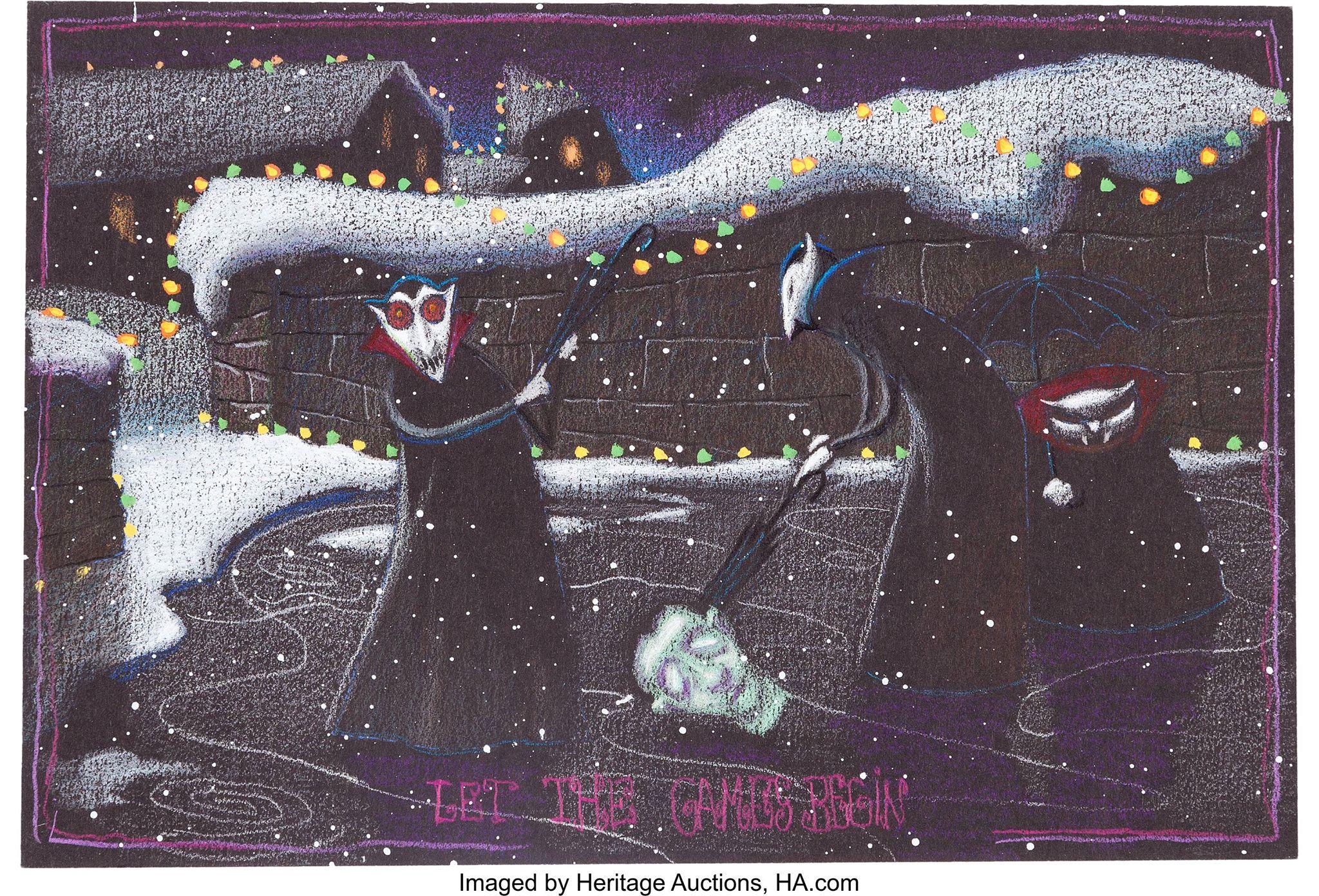 Nightmare Before Christmas scena eliminata tim burton