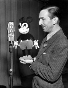 Curiosità Topolino - voce Walt Disney doppiaggio